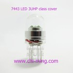 7443 bulb 3 power LED