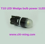 T10 LED Wedge lamp power 1 LED