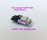 T10 wedge 3UHP LED